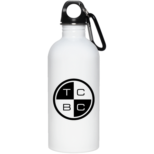 TCBC - 20 oz. Stainless Steel Water Bottle - Black