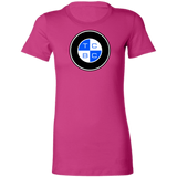 TCBC - Bella + Canvas Ladies' Fit Favorite Slim Cut T-Shirt (Front Blue Logo)