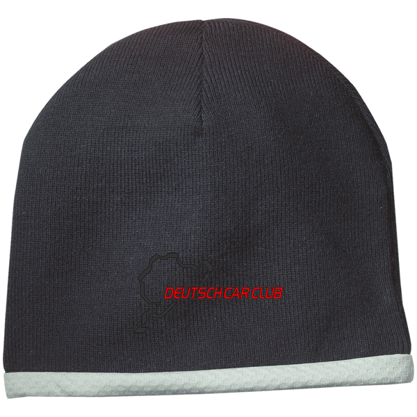 Deutsch Car Club - Sport Tek Performance Embroidered Knit Winter Cap