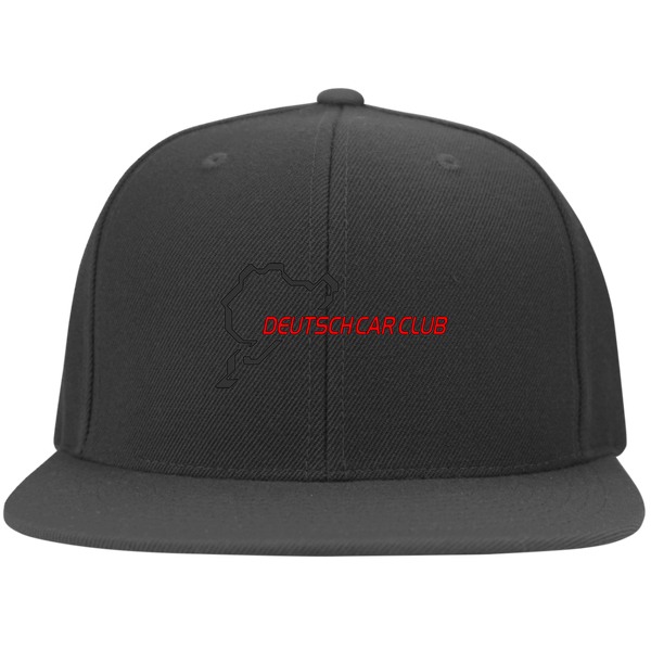 Deutsch Car Club - FLEXFIT Flat Bill Twill Cap