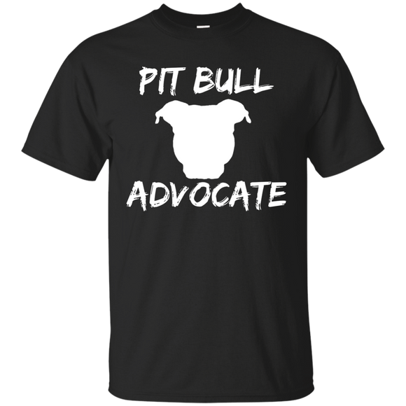 PIT BULL ADVOCATE - Solid White - Pit Bull Unisex T-Shirt - Save Adopt Love Apparel