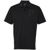 DCC - Adidas Premium ClimaLite Performance Embroidered Pique Polo
