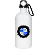 TCBC - 20 oz. Stainless Steel Water Bottle - Blue