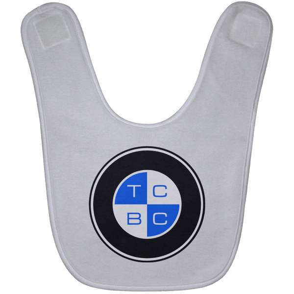 TCBC - Ultra-Soft Washable Baby Bib Blue