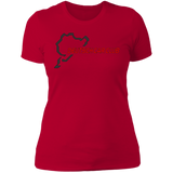 Deutsch Car Club - Next Level Ladies' Boyfriend Premium T-Shirt (Front Logo)