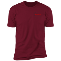 Deutsch Car Club - Next Level Premium Short Sleeve T-Shirt (front+back logo)