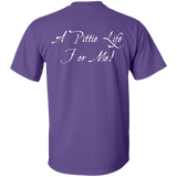 A PITTIE LIFE FOR ME - White - Back Art - Pit Bull Unisex T-Shirt - Save Adopt Love Apparel