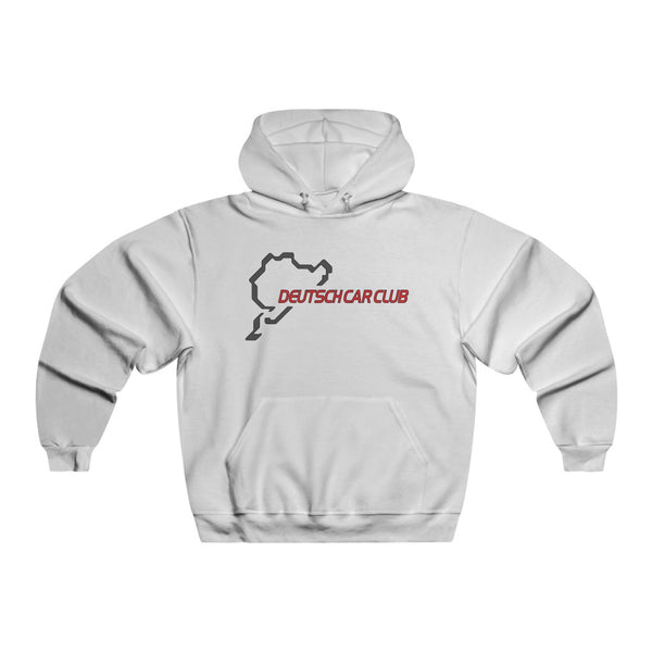 Deutsch Car Club - Men's Jerzees NUBLEND® Heavyweight Hoodie (Front Logo)