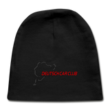 1 Deutsch Car Club - Baby Cap - black