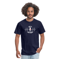 The Pit Of My Heart - Fruit Of The Loom Unisex Classic T-Shirt - navy