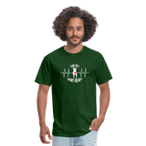 The Pit Of My Heart - Fruit Of The Loom Unisex Classic T-Shirt - forest green