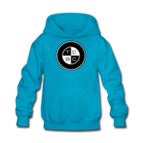TCBC -  LAT Kids' Youth Mid-weight Hoodie - turquoise