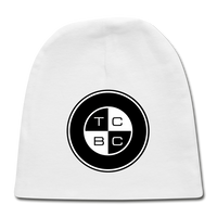 TCBC - Rabbit Skins Baby Embroidered Cap - white