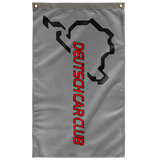 "Deutsch Car Club - Premium Indoor 36""x60"" Wall Flag"