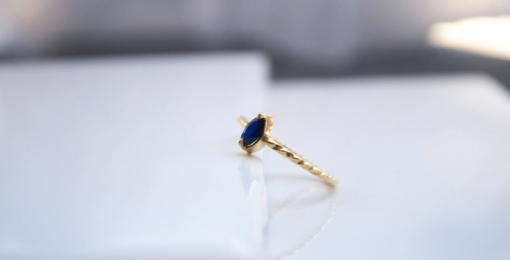 Moody Sapphire Ring
