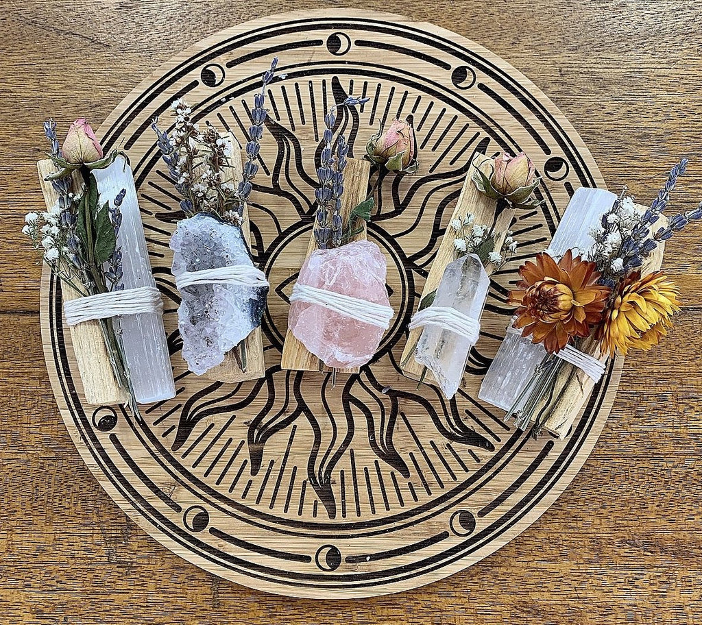 Palo Santo/Crystal Bundle