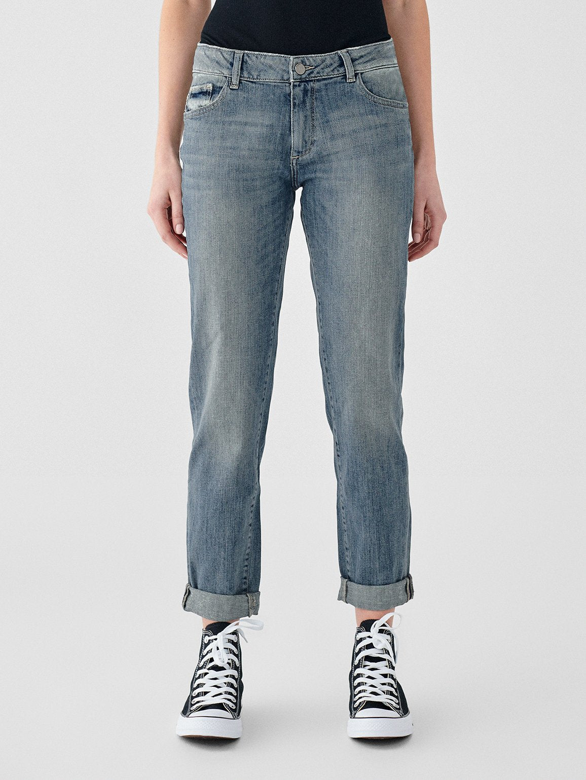 Riley Boyfriend Jeans in Lagos