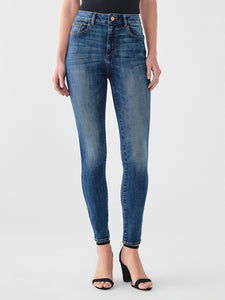 Farrow Ankle High Rise Skinny in Rogers