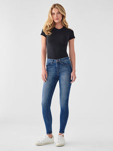 Florence Mid-Rise Ankle Skinny in Parker
