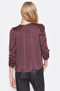 Maizie Top in Plum
