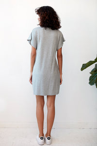 Gatsby Auden Dress in Grey Heather