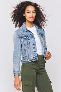 Liesel Denim Jacket in Tahoe