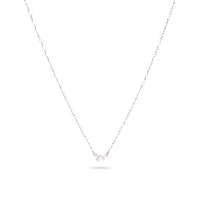 Super Tiny 2 Diamond Amigos Necklace