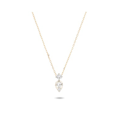 2 Diamond Jumble Necklace