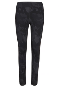 Camo Print Side Seam Leggings