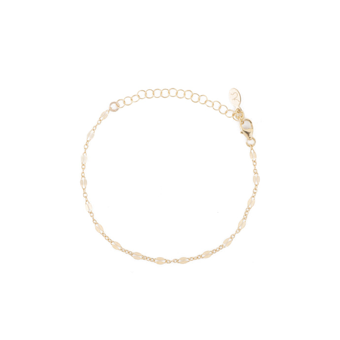 Greece Dainty Chain Bracelet in Gold