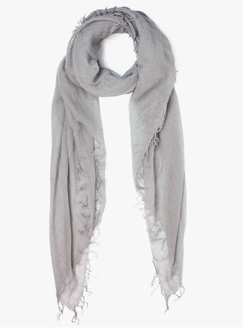 Cashmere & Silk Scarf in Griffin