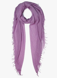 Cashmere & Silk Scarf in Light Purple