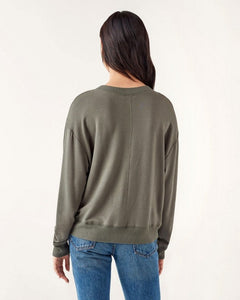 Inlet Sweatshirt in Olive