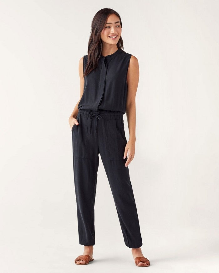 Brook Jumpsuit in Black