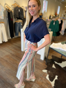 Marrakech Pant in Cici Stripe
