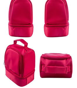 New sleek design thick warm thermal red lunch bag - inshapekit