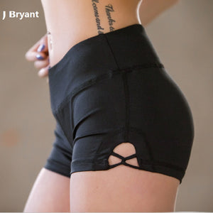 Hot Yoga Gym Shorts Elastic Workout - inshapekit