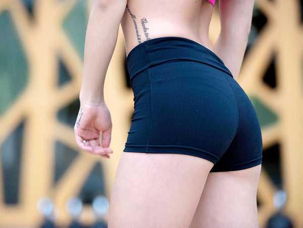 Hot Sports Yoga Elastic Tight Short