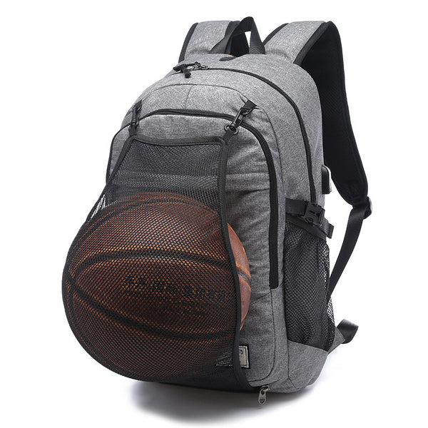 Mens Sport Backpack Laptop Placement For Football or Basketball