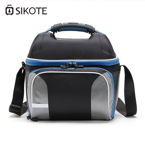 SIKOTE Shoulder Strap Waterproof Lunch Box 14L Cooler Bags