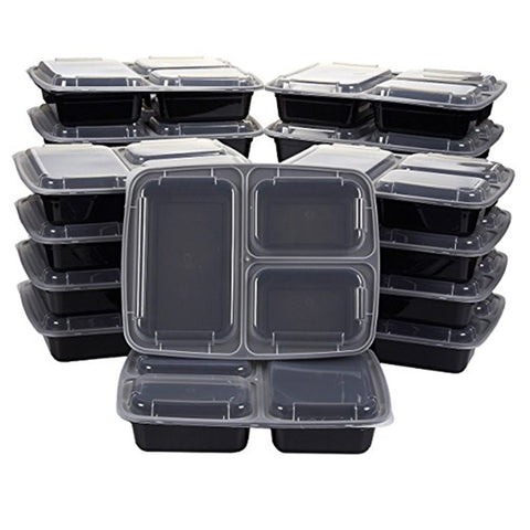10Pcs Meal Prep Box Container