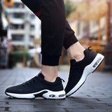 Mens running shoes sports breathable for gym - inshapekit