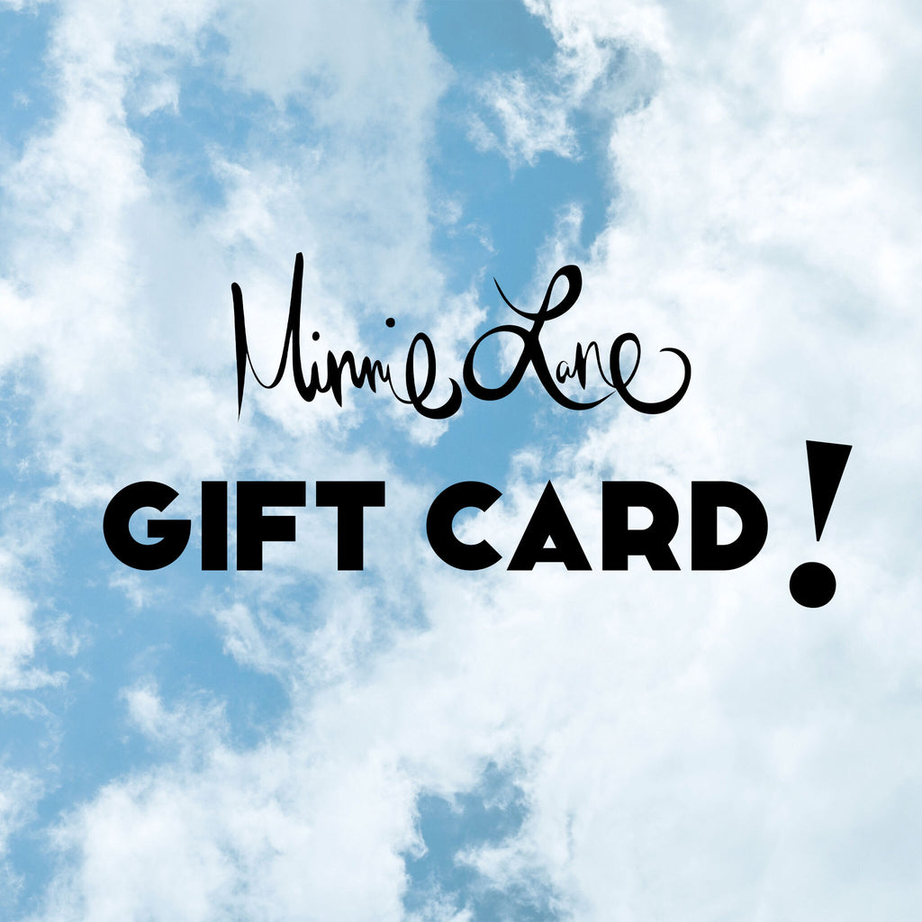 Minnie Lane Gift Card