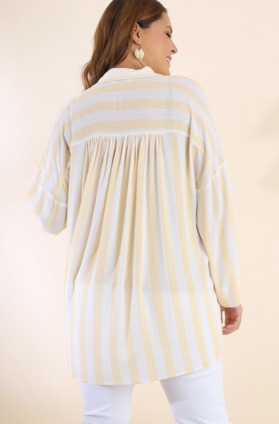 Sunshine Striped Tunic +