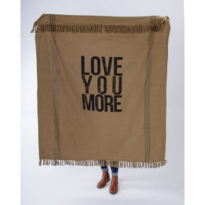 Love You More Throw
