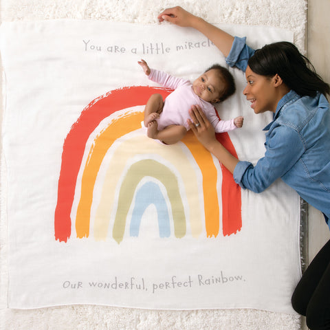Rainbow Baby Swaddle