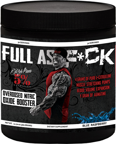 5% Nutrition Full As F*ck 30 Servings - Fitness Mania Supps