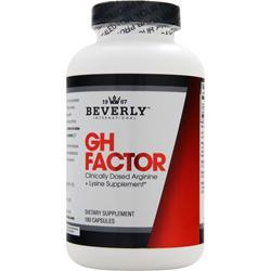 Beverly International GH FACTOR 180 Capsules - Fitness Mania Supps