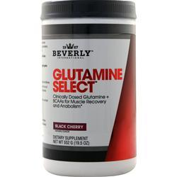 Beverly International GLUTAMINE SELECT 552 Grams Black Cherry - Fitness Mania Supps
