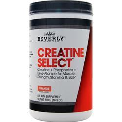 Beverly International CREATINE SELECT 480 Grams Orange - Fitness Mania Supps